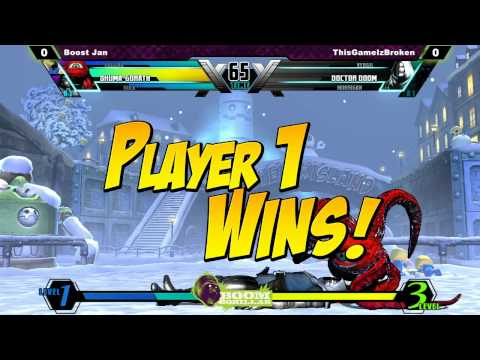 [BGB UMVC3] Boost Jan vs ThisGameIzBroken
