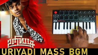 Uriyadi 2 Mass Bgm Ringtone Cover By Raj Bharath