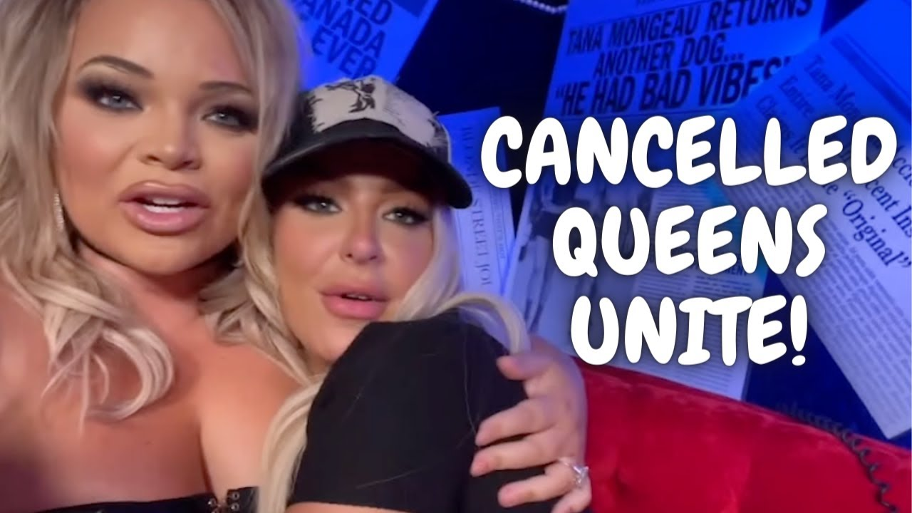 all the SCORCHING hot tea trisha paytas spilled on tana mongeau's podcast, Cancelled