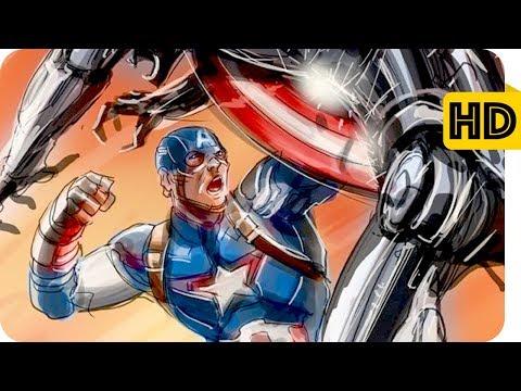 Captain America vs Ultron - Avengers age...