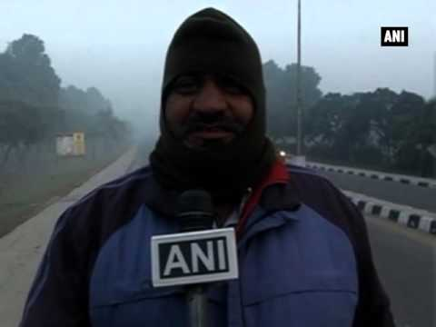 Extreme cold freezes life in northern India