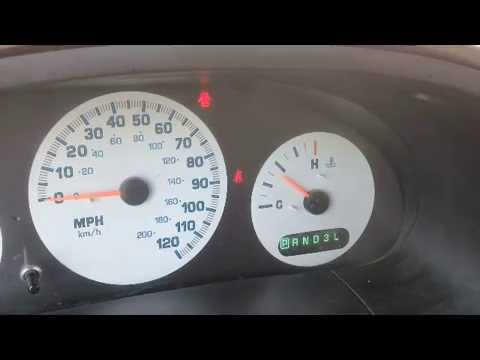 Airbag Light 2002 Chrysler voyager - YouTube