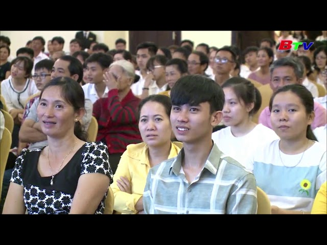 Hồng Nhung Group -  Lễ Trao Học Bổng Du Học Nhật Bản Tại Bình Dương