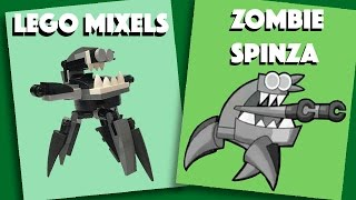 LEGO Mixels - Zombie Spinza - Stop Motion Build (How to Build)