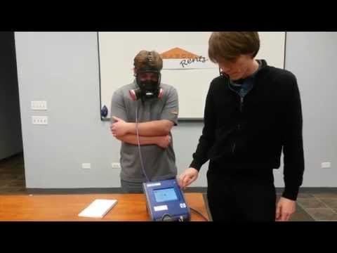 RAECO Rents: TSI Portacount Quantitative Fit Test FULL Demonstration