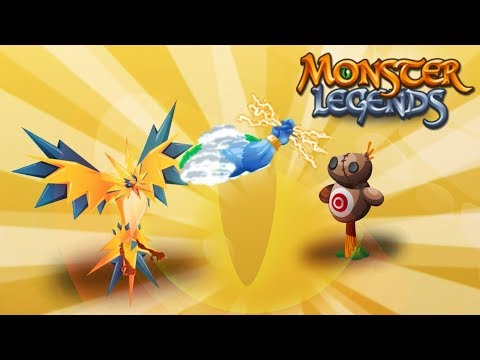 IS THAT ZAPDOS?! | Monster Legends | Fan Choice Friday