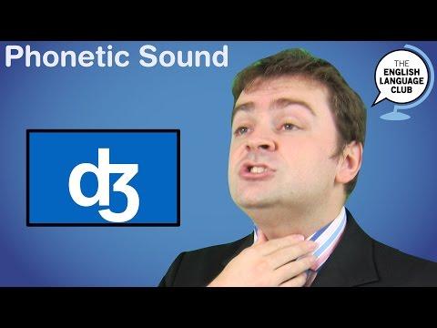 The /ʤ/ sound