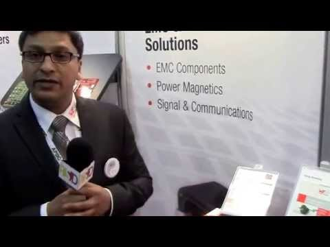 Wireless Power Transfer Design Kit Demonstration from Würth Elektronik during APEC 2014