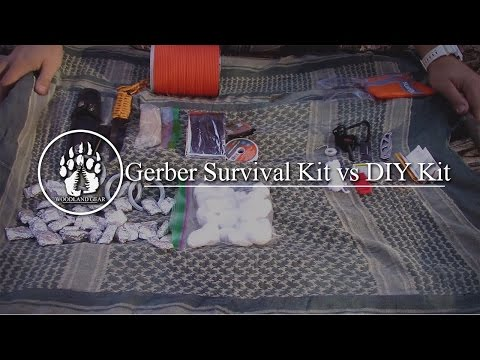 Gear Review: Gerber Bear Grylls Basic Survival Kit vs DIY Kit