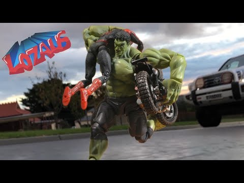SPIDERMAN STOP MOTION Action Video Part 15 HomecomingTrailer
