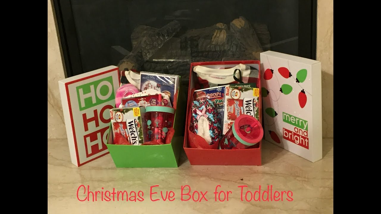 What I Got My Kids For Christmas Christmas Eve Box Youtube