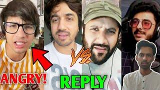 Sourav Joshi ANGRY! | Mumbiker Nikhil Vs Peepoye Drama | CarryMinati On Shorts, Gaurav Arya, BGMI |