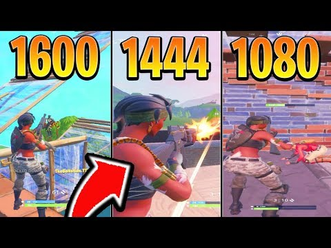 Whats the BEST Stretch Resolution for Fortnite! (Best Fortnite Settings For Pc + Res)