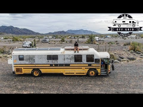 1.5 Years Into My School Bus Conversion - From Purchase To Fully Liveable