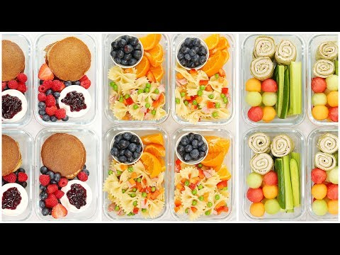 Kid-Friendly Meal Prep Recipes | Back To School + Healthy + Quick + Easy