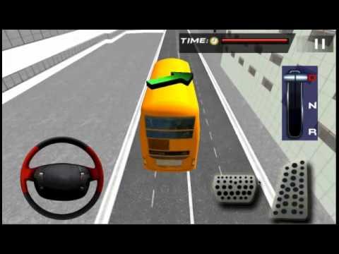 City bus driver simulator d