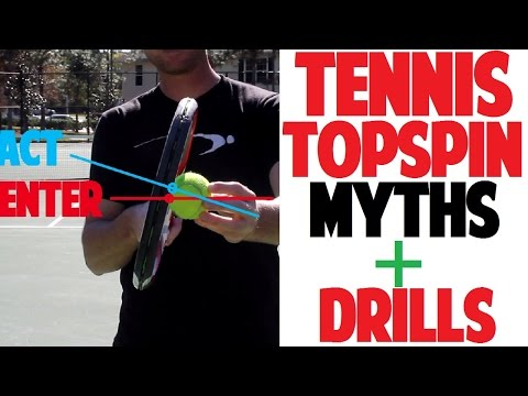 Tennis Topspin Forehand Technique & Drills : Fix Your Topspin Mis-Hits (Top Speed Tennis)