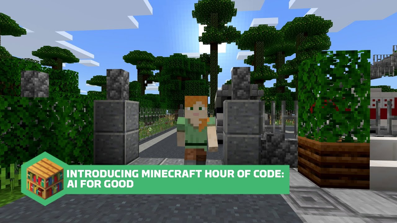 Introducing Minecraft Hour of Code: AI for Good YouTube