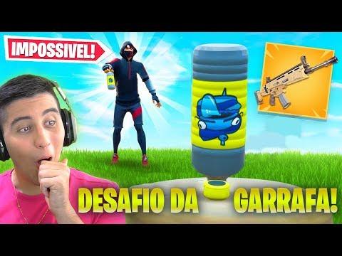 Desafio da Garrafa IMPOSSÍVEL no Fortnite temporada 10