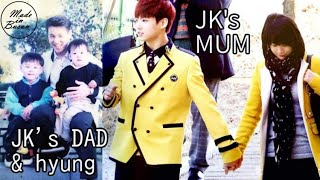 Jungkook's childhood and family life (parents, hyung, Gureumie)