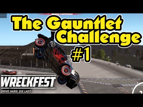 Introducing The Gauntlet Challenge! Wreckfest Multiplayer