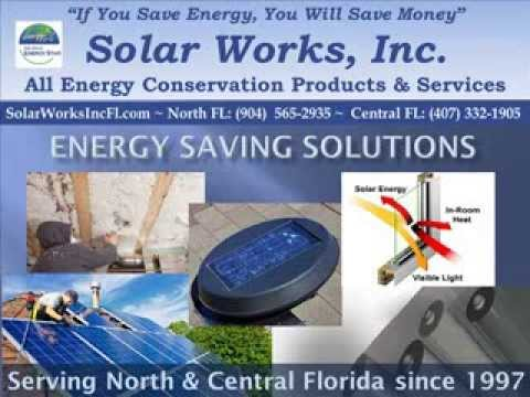 Solar Energy Jacksonville, FL - Solar Panels, Hot water Heater, Window Film, Pool Heater