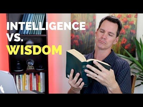 Intelligence Vs Wisdom