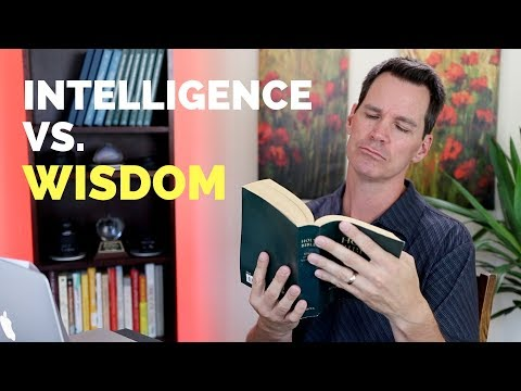 Intelligence Vs Wisdom