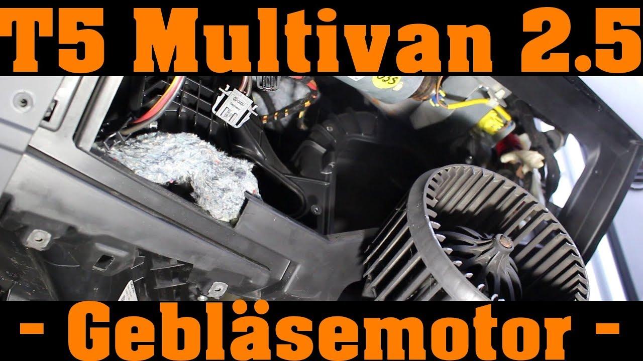 Gebläse Gebläsemotor Innenraumgebläse für VW T5 Multivan Transporter Neu