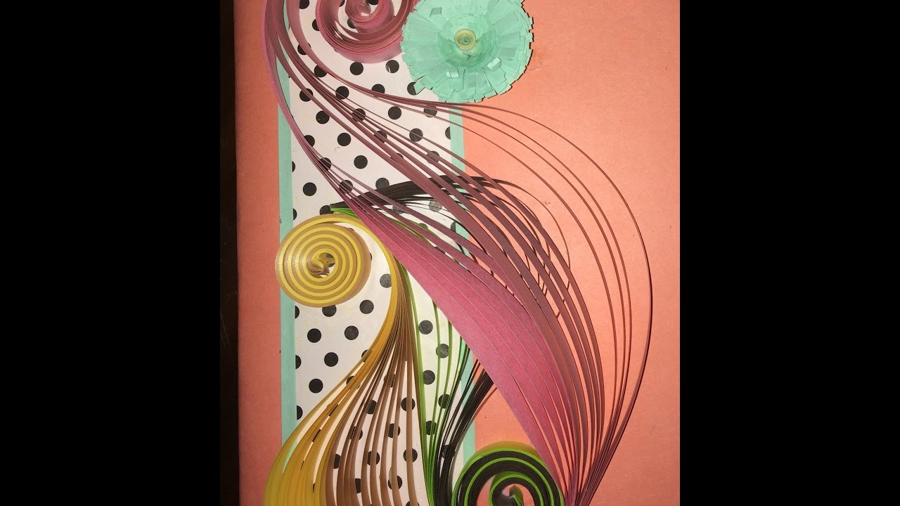 how to make file cover by quilling youtubehow to make file cover by quilling