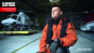 G SHOCK Gravitymaster GPW 1000 Search and Rescue Mission   Interview