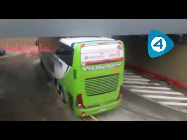 """Quilmes: el municipio multó al micro de Vía Bariloche, Galetto habló de """"intencionalidad"""" y apareció un nuevo video"""