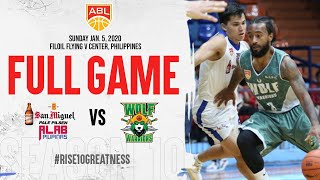 ALAB Pilipinas v Macau Wolf Warriors | FULL GAME | 2019-2020 ASEAN Basketball League