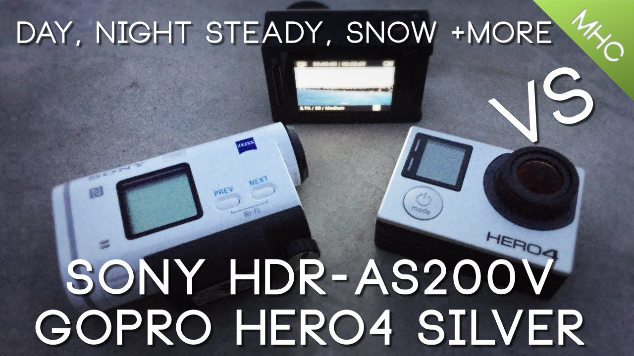 sony hdr-as200v vs iphone