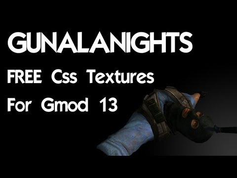 Get CSS Textures for Free for Gmod 13