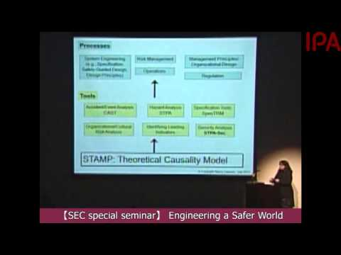 【SEC Special Seminar】 Engineering a Safer World