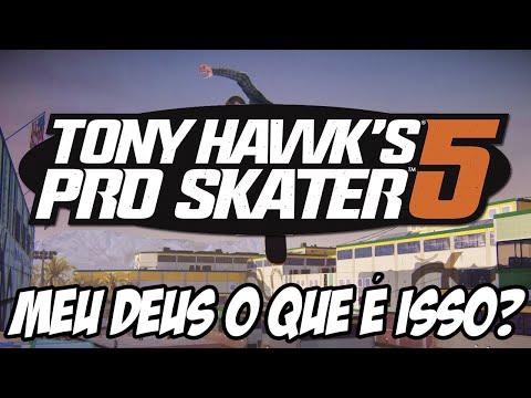 Tony Hawk 's Pro Skater 5 - MEU DEUS O QUE ACONTECEU AQUI??