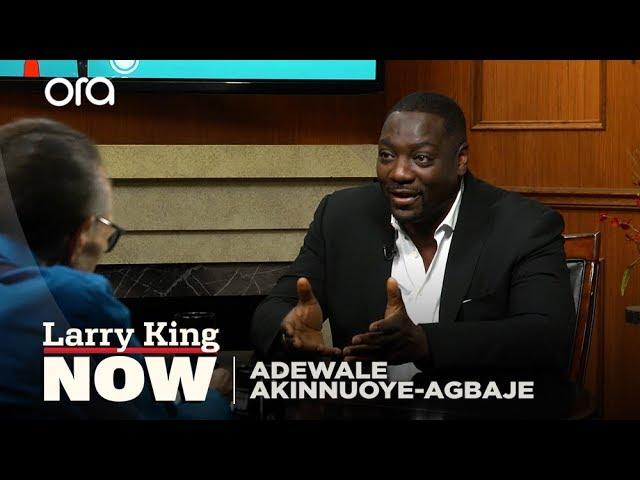 Adewale Akinnuoye Agbaje On 'Farming', Directing His Life Story, And 'Oz'