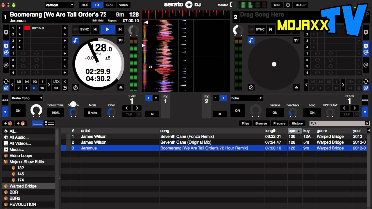 Serato DJ 1 3: FX Expansion Packs, Twitch + VCI-300 Support
