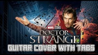 """Doctor Strange: Guitar Lesson Tutorial """"The Master of the Mystic"""" 