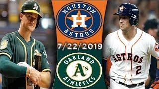 Oakland Athletics vs Houston Astros | Game Highlights