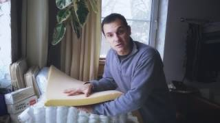 видео Топпер Mr.Mattress Futon Migi