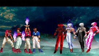 Kof Mugen Super Chris Team Vs Orochi Team