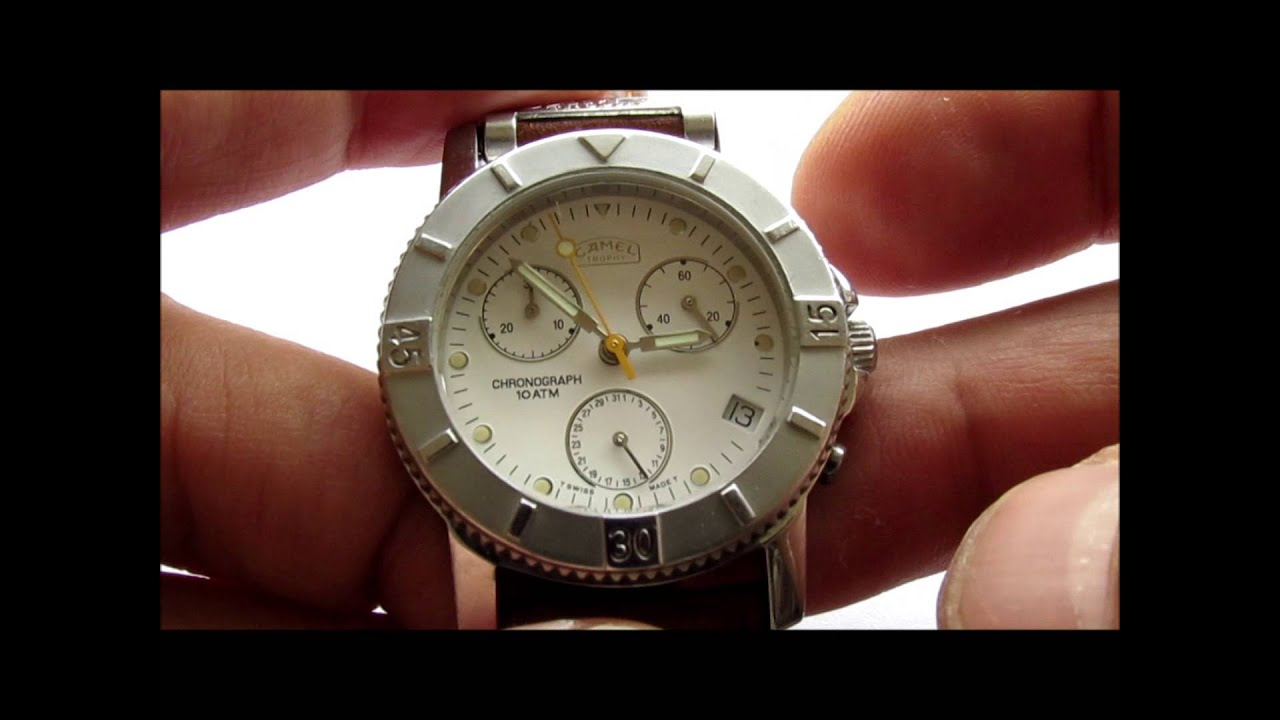 Camel trophy chronograph adventure watches youtube for Adventure watches