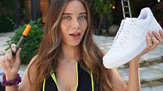 SUPRISING LANA RHOADES WITH CUSTOM SHOES!!🎨👠(Giveaway)