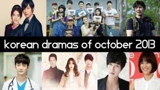 Video Top 6 New 2013 Korean Dramas [ October ] - Top 5 Fridays download MP3, 3GP, MP4, WEBM, AVI, FLV Maret 2018