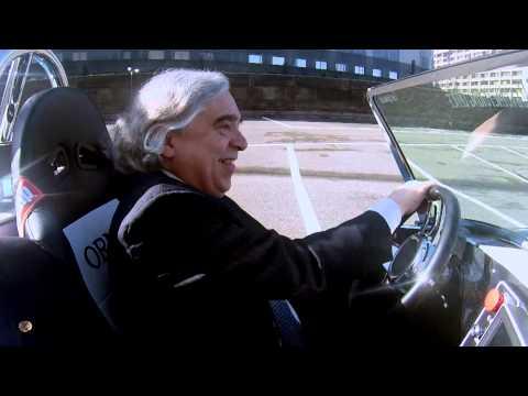 Secretary Moniz Test Drives the 3D-Printed Shelby Cobra