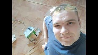 Простая установка  межкомнатной двери)))))