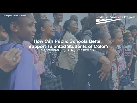 How Can Public Schools Better Support Talented Students of Color?