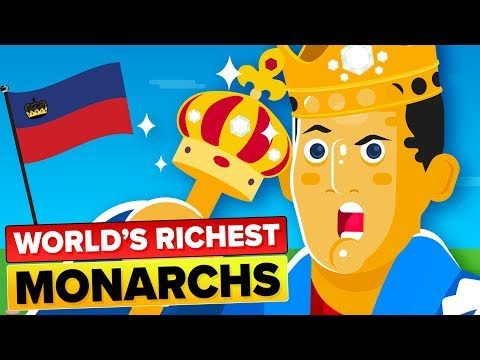 Stupidly Rich Monarchs (The Richest Royals In The World In 2019)